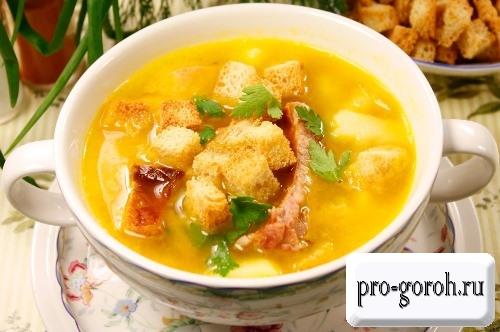 Гороховый суп с копченостями – вариации рецепта