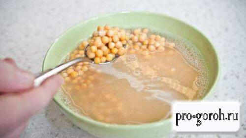 Особенности приготовления блюд с горохом