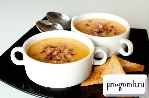 Гороховый суп-пюре – пошаговые рецепты
