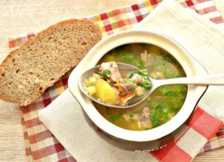 как приготовить гороховый суп с мясом свинины