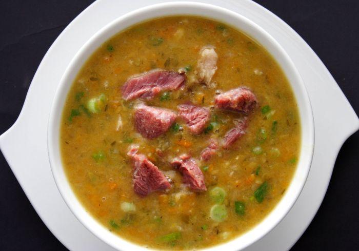 гороховый суп рецепт со свининой