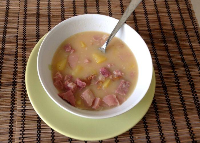 как варить гороховый суп с мясом свинины