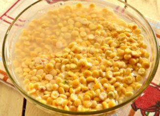 сколько варить горох для супа после замачивания