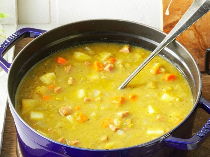 сколько варить горох для супа без замачивания