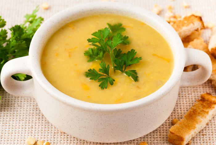 сколько варить горох в супе с замачиванием