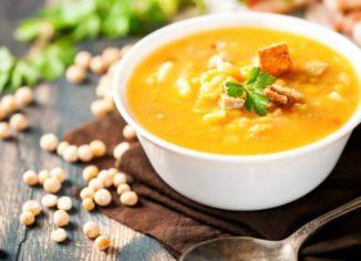 состав горохового супа