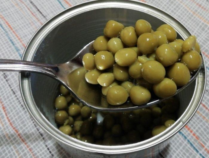 калорийность горошка консервированного
